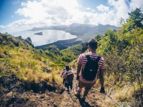 Hiking Le Morne Mountain - Rope and Climbing